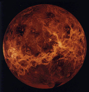 A view of Venus