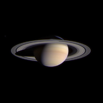 A Photo of Saturn