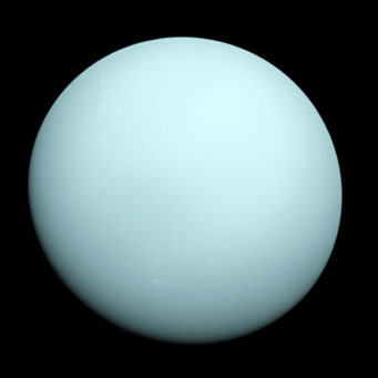 A Photo of Uranus