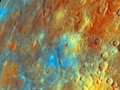 The surface of Mercury